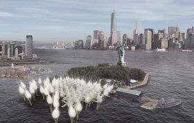 LIBERTY MUSEUM NEW YORK: Freedom to the people, Social Justice Media, Statue of Liberty Museum, Jungwoo Ji, Bosuk Hur, Suk Lee, NYC design competition