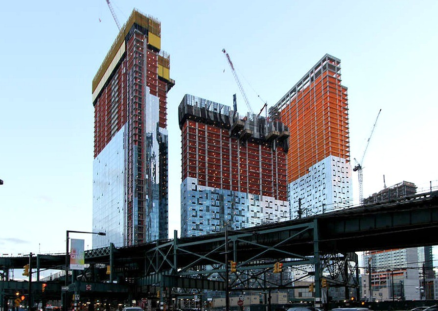 construction update tishman speyer s trio of long island city