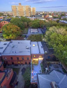 O'Neill McVoy Architects, Clinton Hill, Townhouse, Architecture, Courtyard, Skylight, Carriage house, interiors