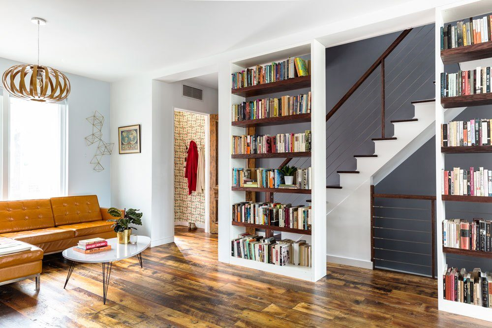 This Windsor Terrace Townhouse Reno By Barker Freeman Was Inspired By The  Owneru0027s Love Of Books