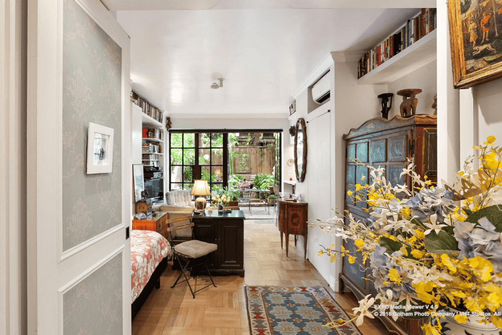 Greenwich Village Studio With Wall Of Windows And Private