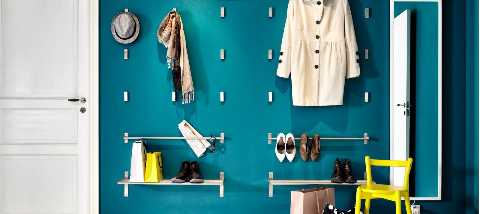 Tips and storage ideas for couples living together in Best wardrobe storage solutions