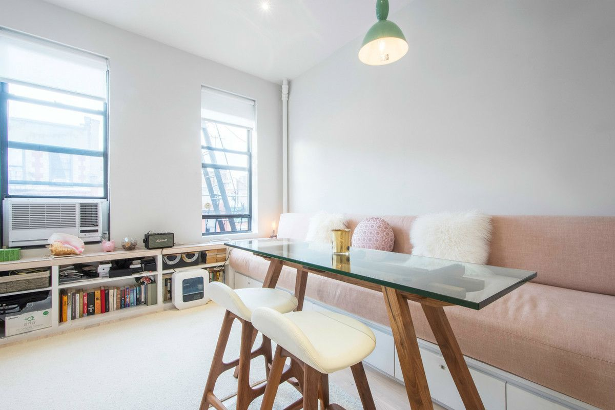 110 Thompson Street, cool listings, studios, tiny apartments, interiors, design, co-ops, Soho