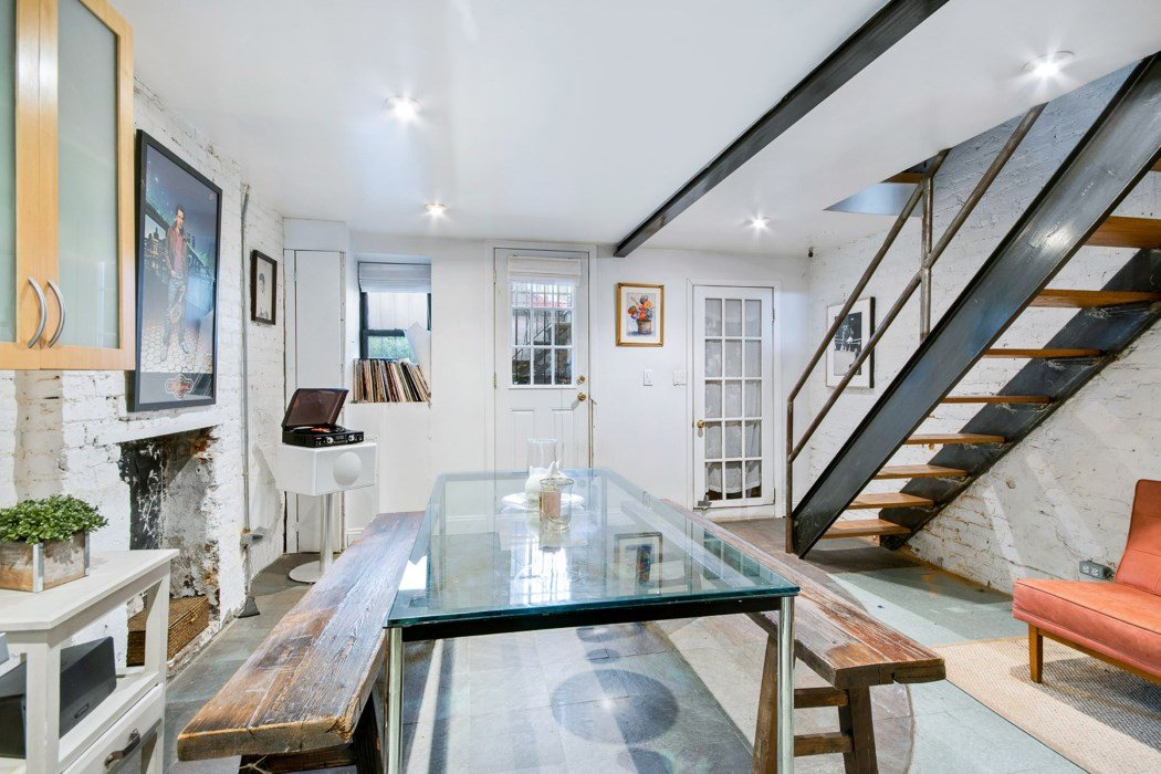 This Brick Townhouse With Romantic Backyard Asks