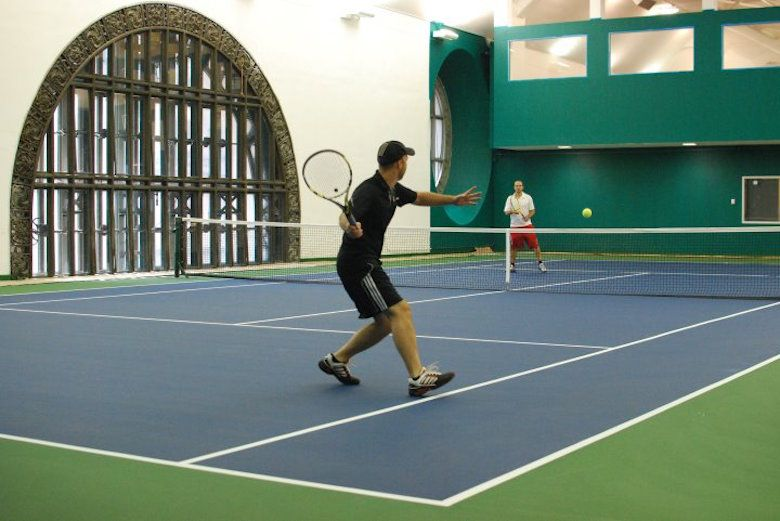 Hidden tennis courts in Grand Central Station were also once Trump's exclusive club