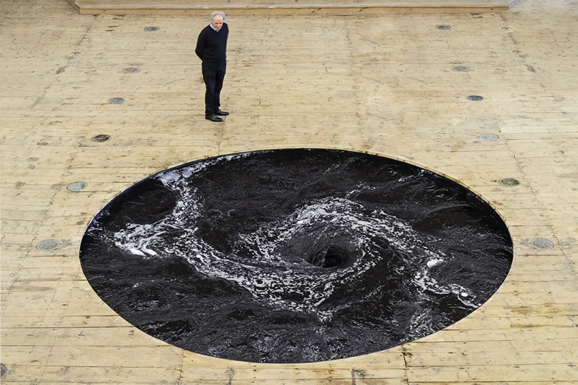 Anish Kapoor will bring a spiraling funnel of black water to Brooklyn Bridge Park