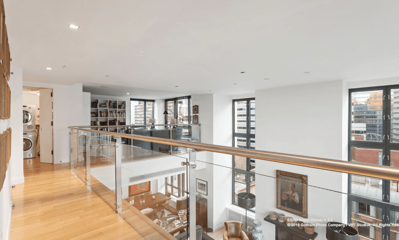 92 Warren Street, tribeca, penthouses, cool listings, duplexes, outdoor spaces