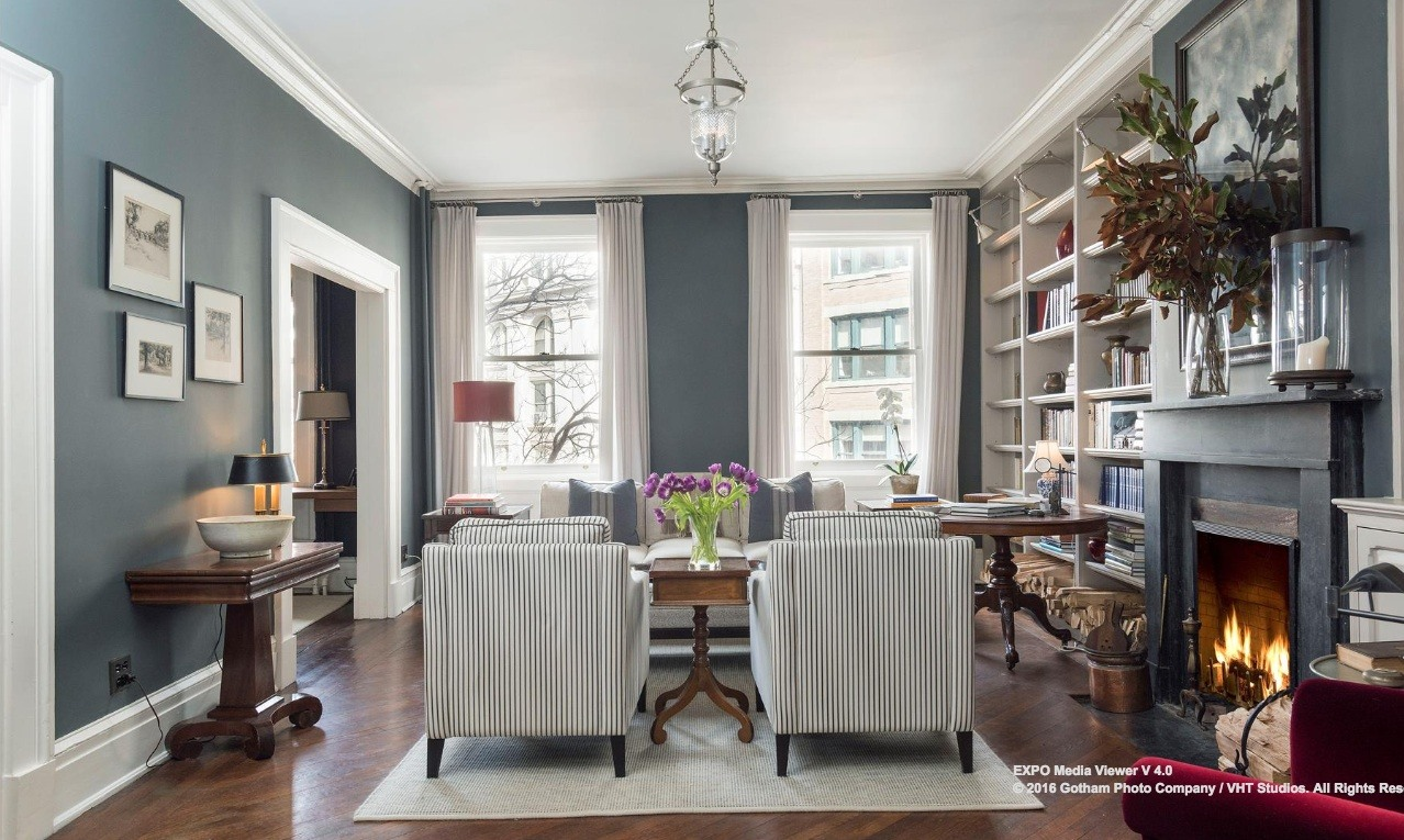 Impeccably Restored Apartment In An 1839 Greek Revival