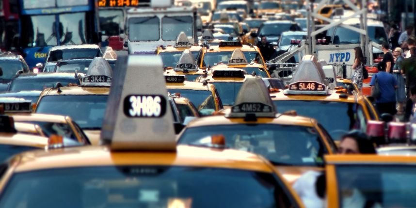 The top 20 most congested cities when it comes to traffic