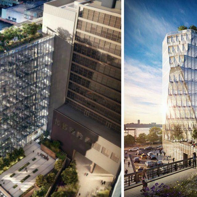 Jeanne Gang reveals sparkly new renderings of High Line-hugging Solar Carve Tower