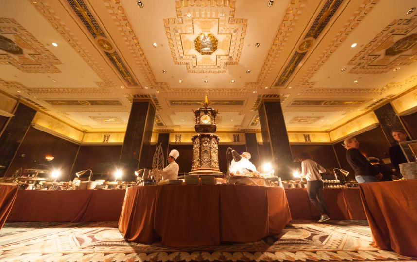 Sunday will be your last chance to brunch at the Waldorf Astoria's Peacock Alley