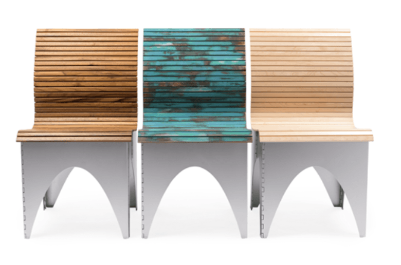 Suitable For Both Indoors And Outdoors With Its Anodized Aluminum Base And  Teak Seat, The Transformable, Space Saving Seat Can Be Customized To Fit  Your ...
