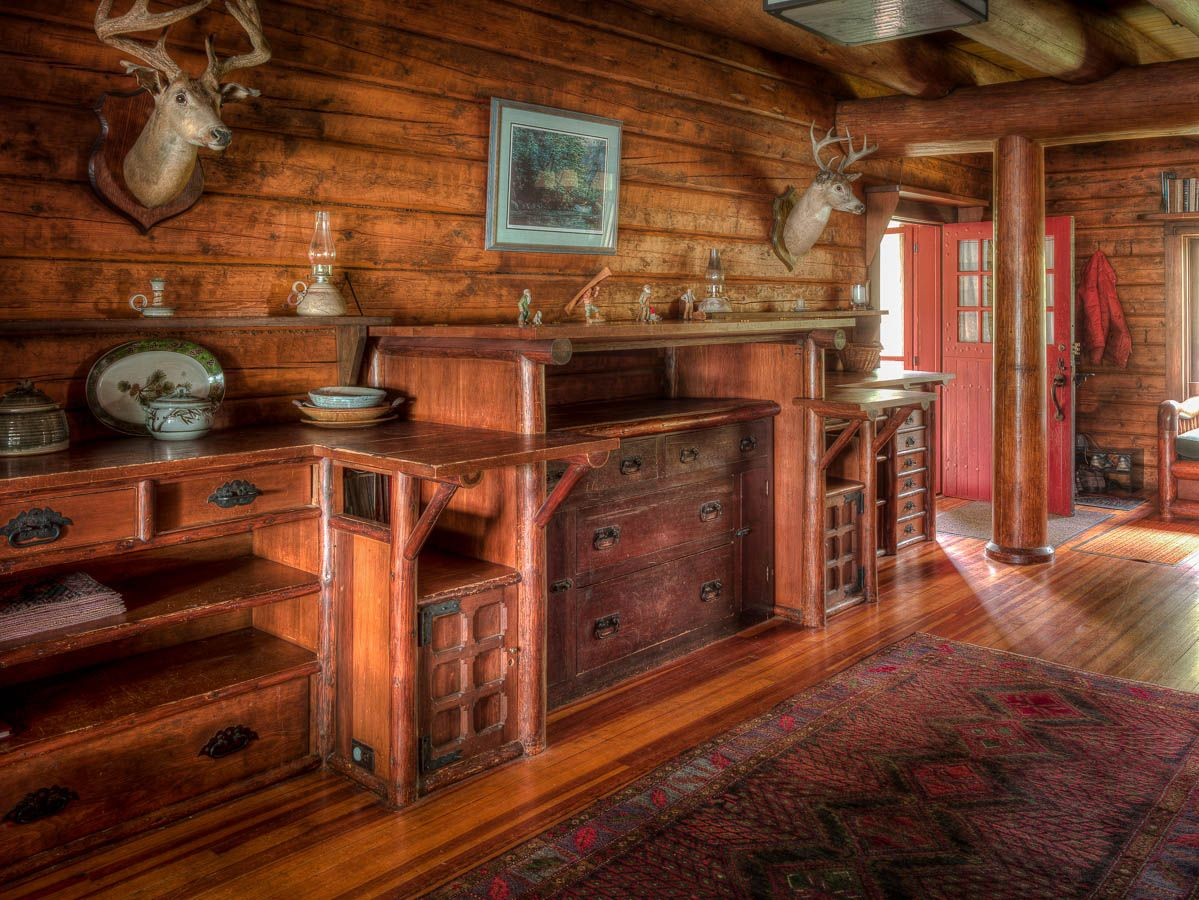 J P Morgan S 120 Year Old Great Camp Uncas In The