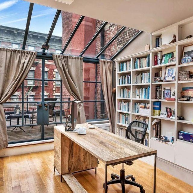 Sun worshippers: Rent this West Village townhouse with terraces and glass walls for $25K a month