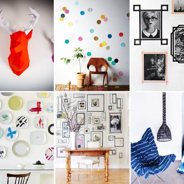 9 artsy and inexpensive DIY ideas for decorating a rental