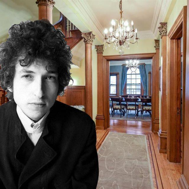 139th Street revisited: Bob Dylan's former townhouse on Striver's Row for sale for $3.7M