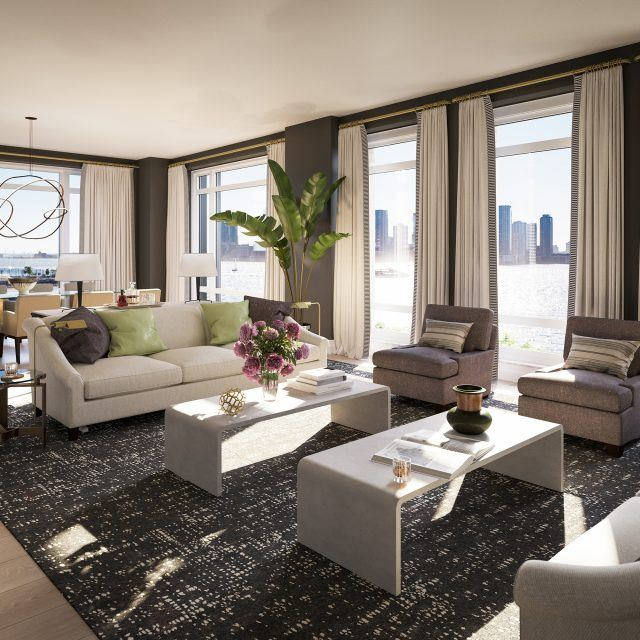 Lavish $65M penthouse unveiled at Robert A.M. Stern's 70 Vestry