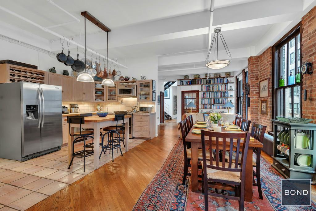 This $2 45M Chelsea loft has authenticity, style and a magical roof