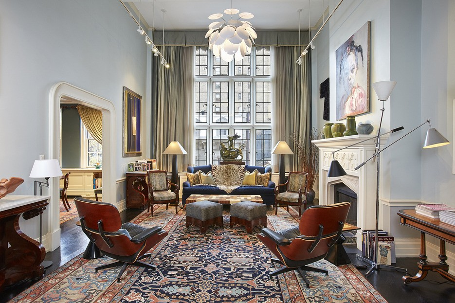 This striking $3.9M duplex six is as classic Upper East ...