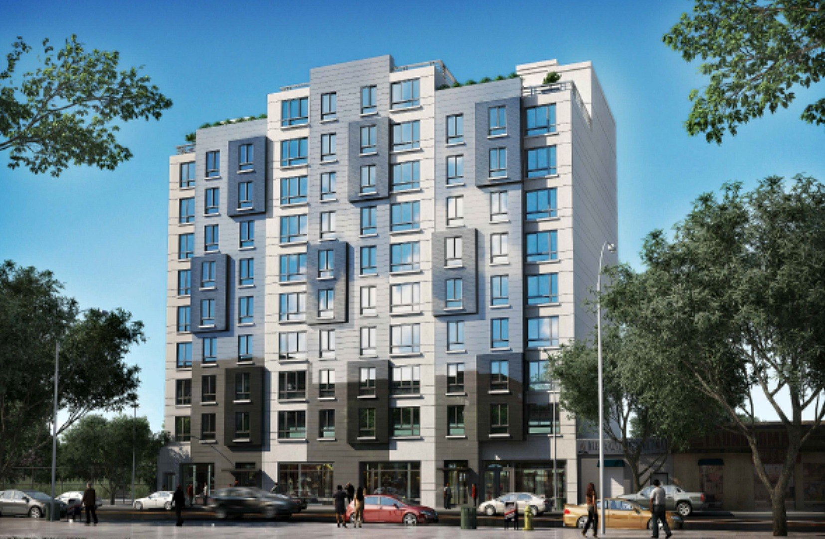 Apply for 50 affordable units along Bronx Park from 734month