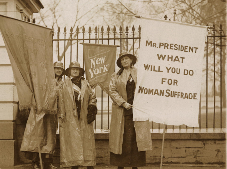 Women's History Month began in New York in 1909 to honor the city's garment workers' strike