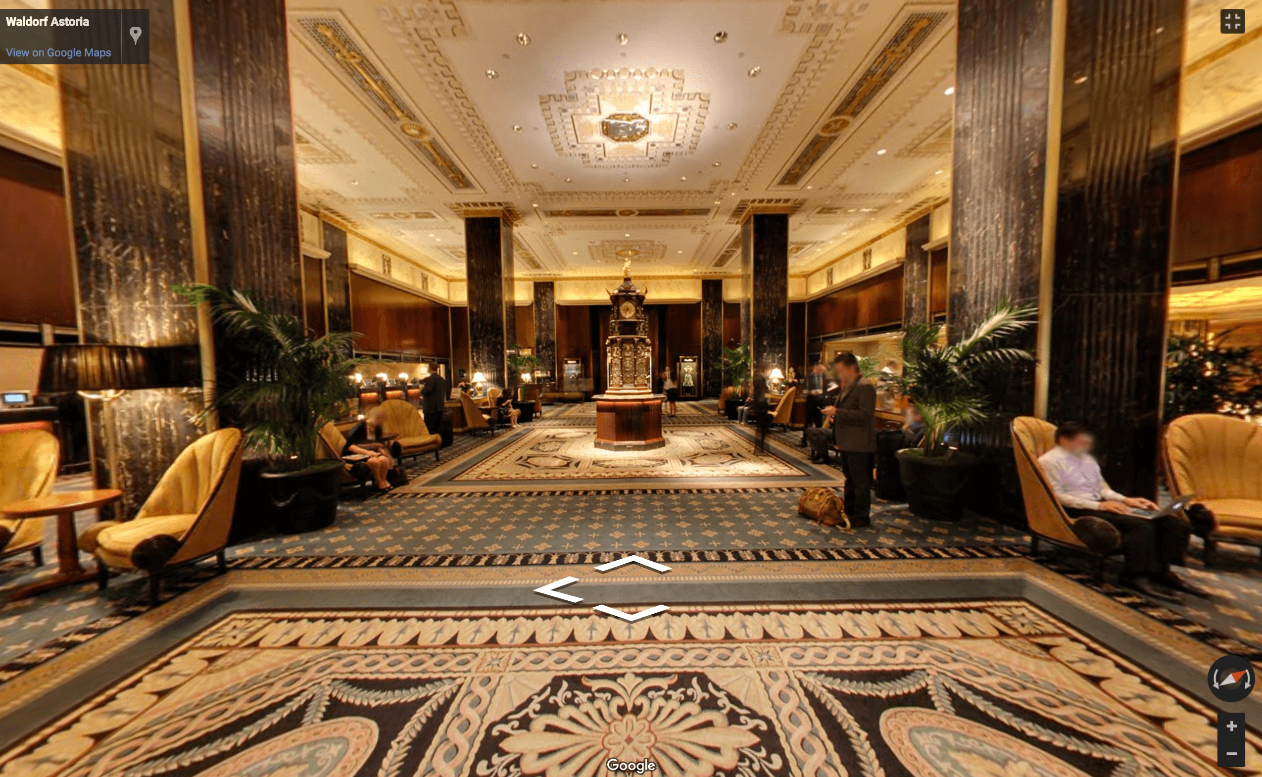 Take a virtual tour of the waldorf astoria 39 s freshly for Waldorf home
