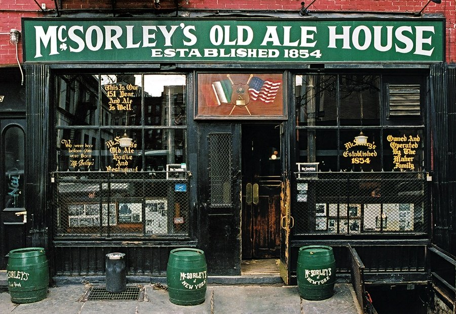 McSorley's reopens in the East Village with famed light or dark ale available by the growler