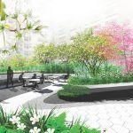 242 West 53rd Street, CetraRuddy NYC, Terrain Work, Algin Management