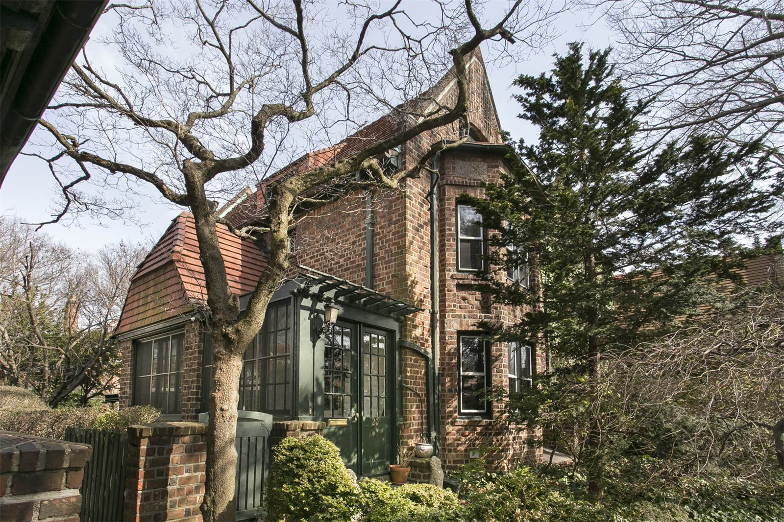 $1.8M Forest Hills home has an English garden, attic studio, and a ...