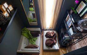 Anthony Triolo apartment, NYC tiny apartment, Upper West Side tiny apartment, 150-square-foot apartment