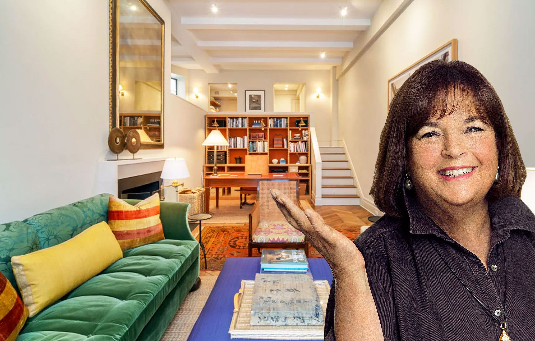 Ina Garten Photos barefoot contessa' ina garten asks $2m for parisian-style upper