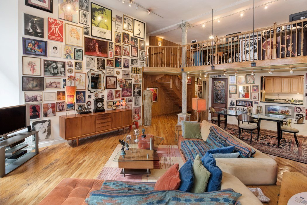 Huge walls show off insane movie memorabilia collection at ...