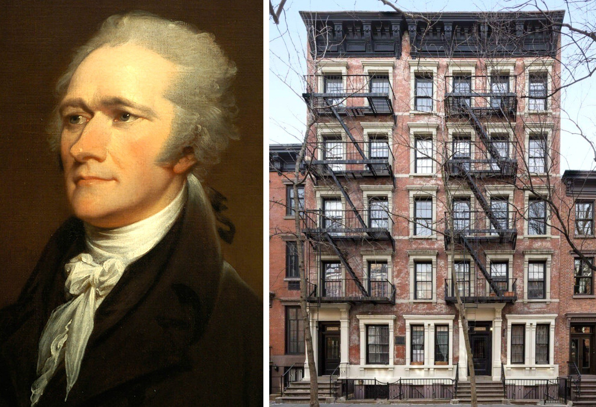 rent in the greenwich village building where alexander hamilton