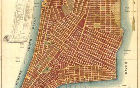 map of nyc, nyc grid plan, nyc street plan