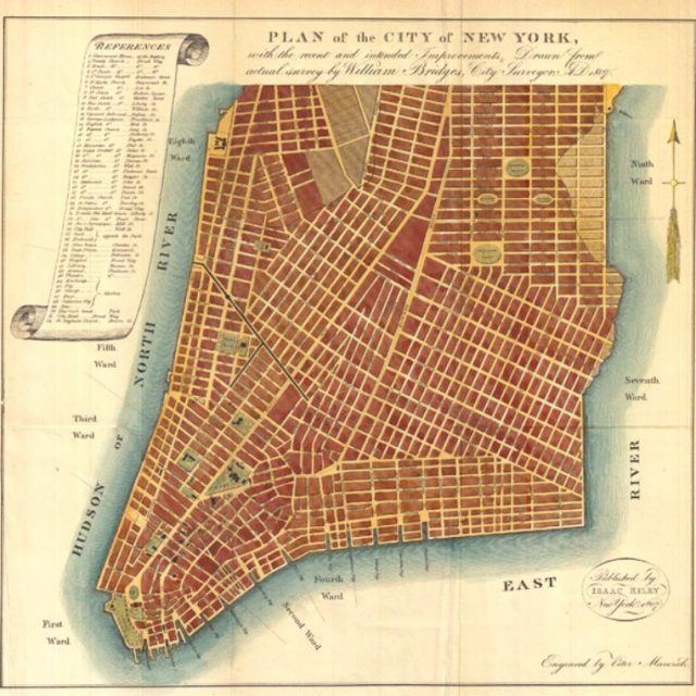 204 years ago today, the Manhattan Street Grid became official