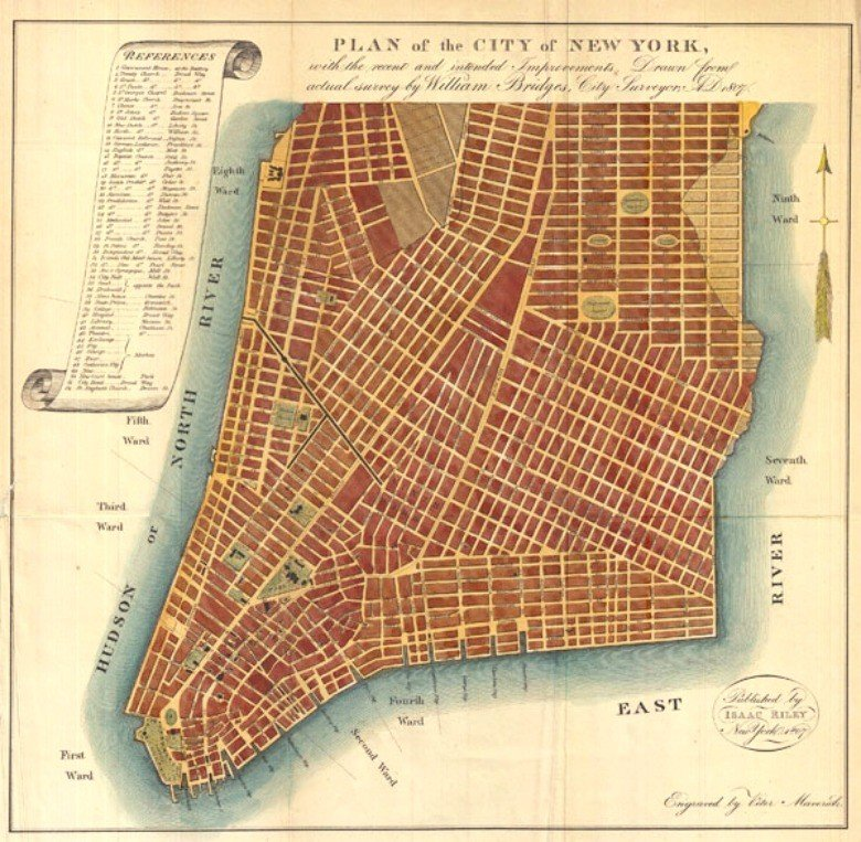 204 Years Ago Today The Manhattan Street Grid Became Official 6sqft