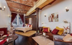 9 Barrow Street, West Village, co-ops, cool listings, studios
