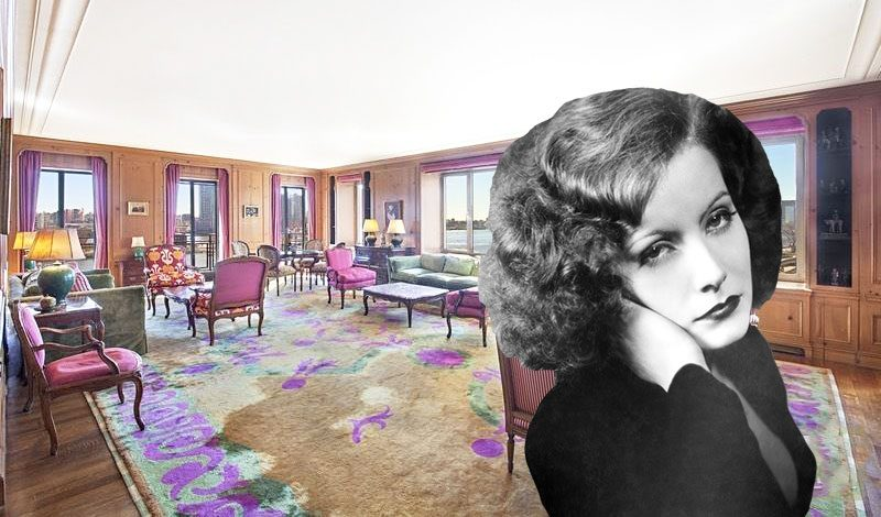 Greta Garbo's exclusive East Side co-op hits the market for the first time in 64 years, asking $6M