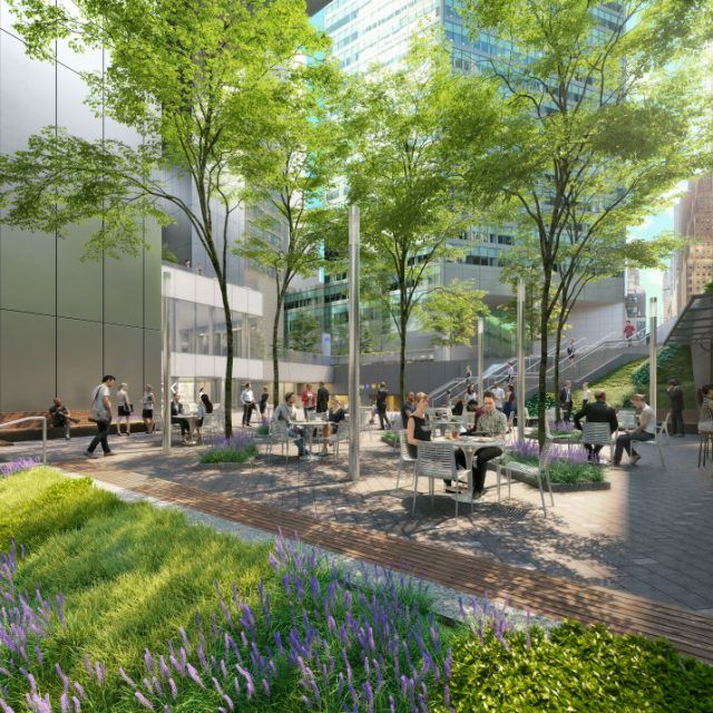 Former Citicorp Center might lose Sasaki fountain as part of plaza redesign