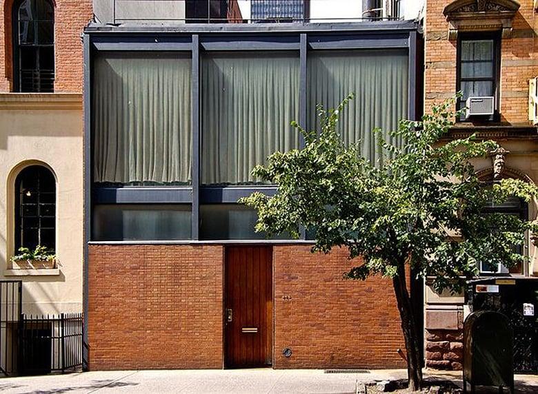 Philip Johnson's Rockefeller Guest House, a 'secret' modernist gem on Manhattan's east side
