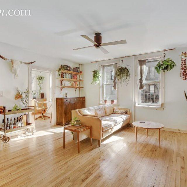 $665K sunny Williamsburg co-op looks like a chic Amsterdam flat