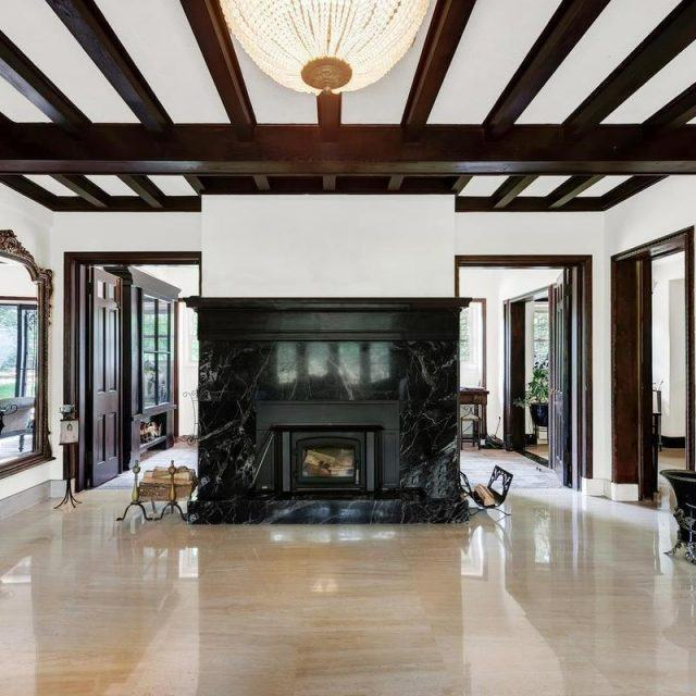 This $4M Riverdale mansion, known as the Esmeralda, was built in 1899 and still impresses today