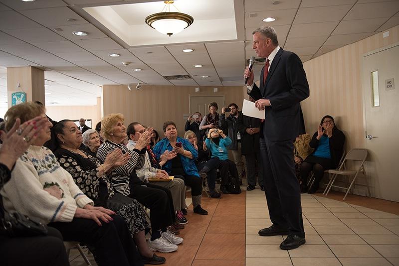Mayor de Blasio, Mansion Tax, NYC Gov