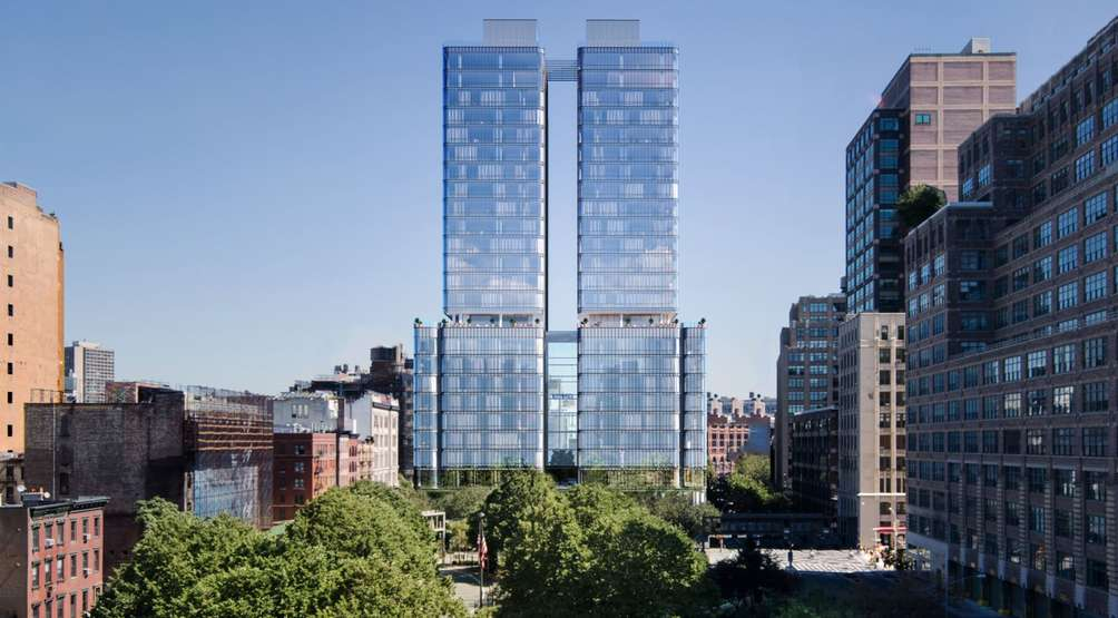 Renzo Piano's 565 Broome Street on the rise; the world of Hamilton at Green-Wood Cemetery