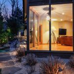 543 Scarborough Road, cool listings, briarcliff, westchester, ossining, midcentury modern, modern house, frank lloyd wright, outdoor spaces, waterfall