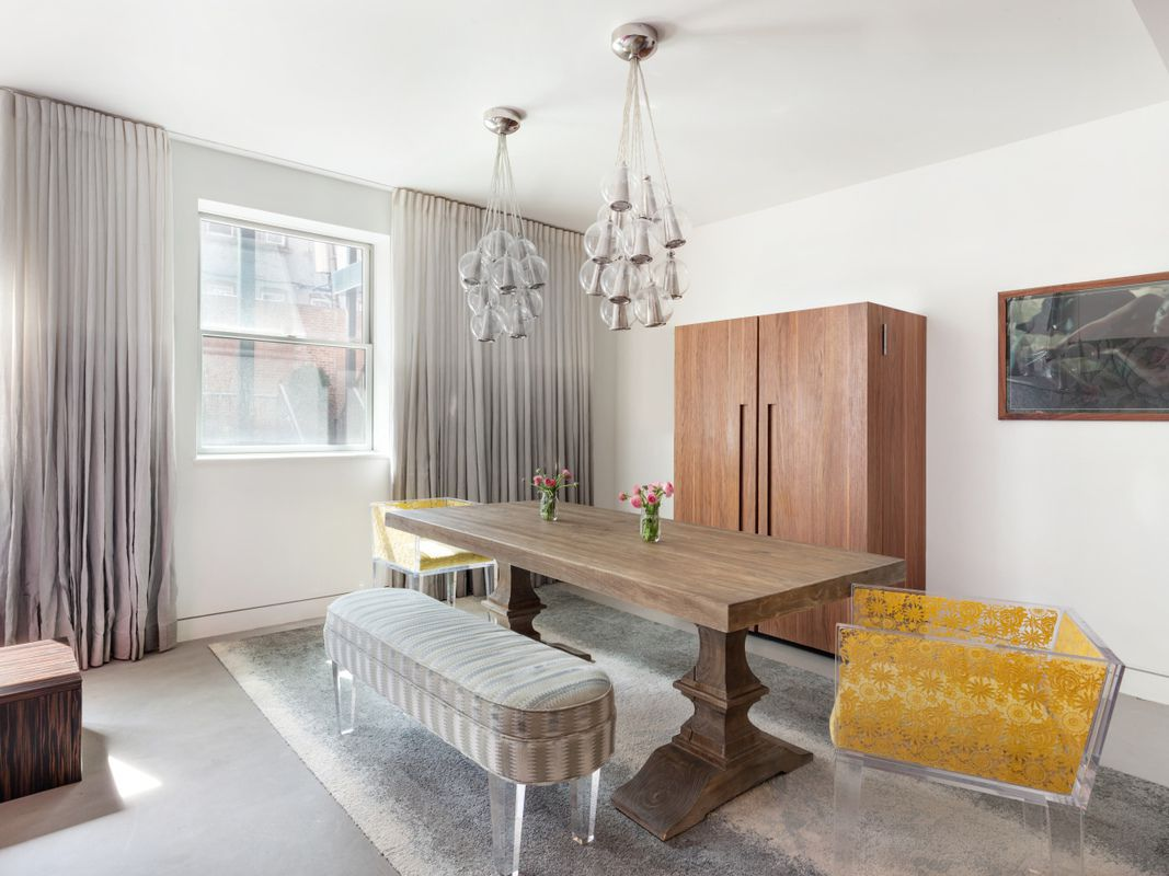 Superb The Kitchen, With Its Bright Pink Island, Also Has A Dedicated Pantry Closet,  Appliance Closet And A Walk In Utility Closet Complete With A ...