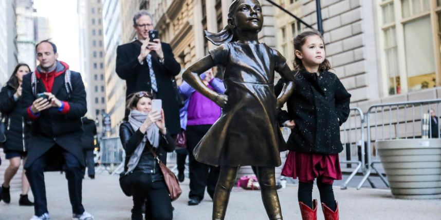 'Fearless Girl' statue will remain on Wall Street for another year, but officials say that's not enough