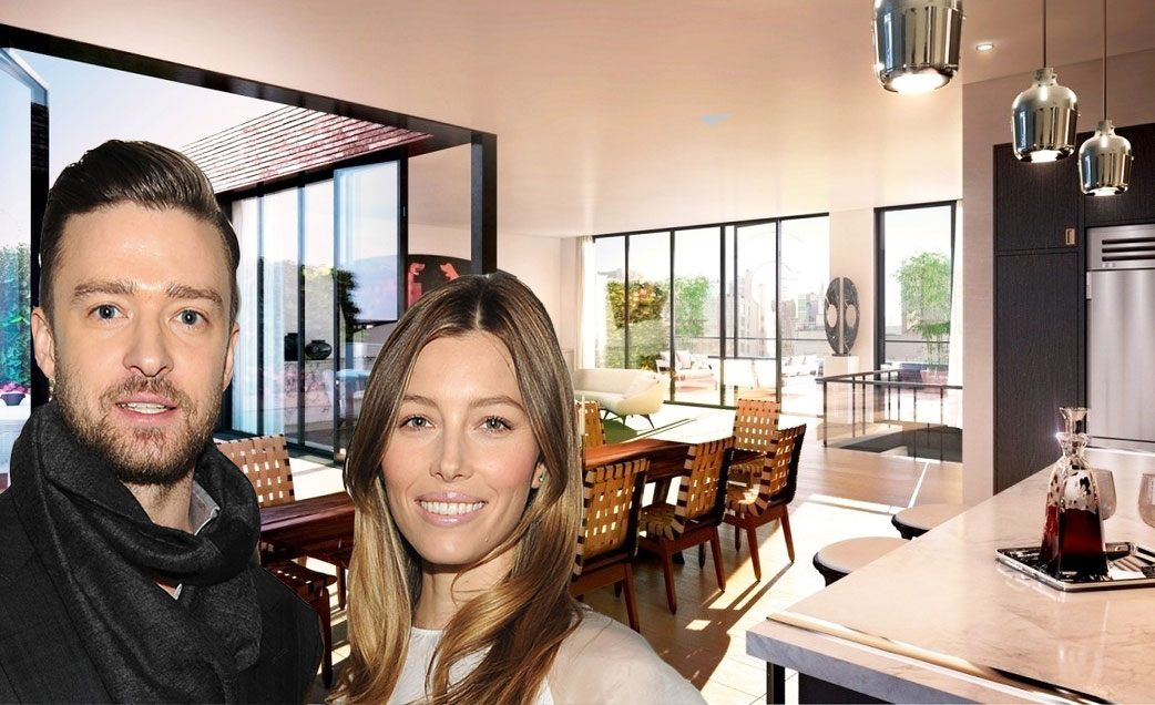 Justin Timberlake and Jessica Biel are bringing sexy back to Tribeca with new penthouse buy