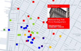LGBT Map, NYC history, LGBT history