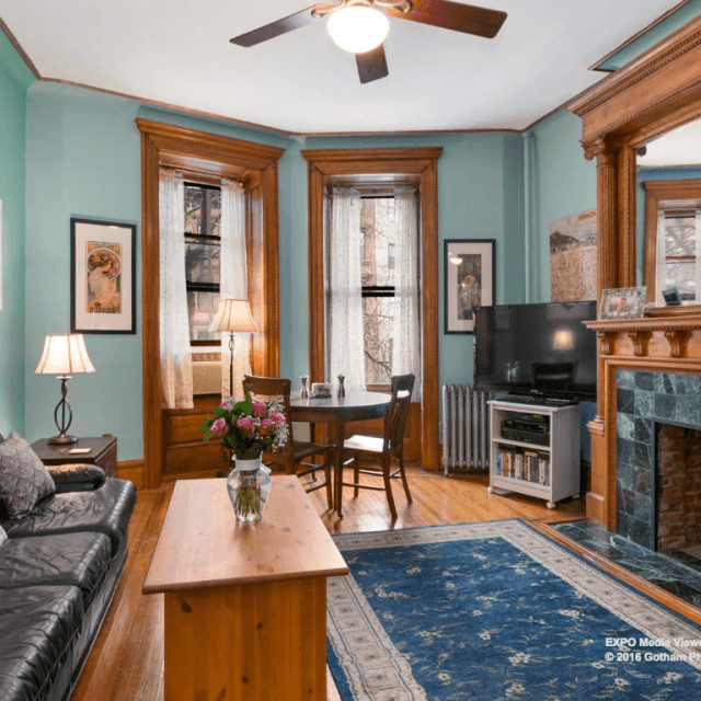 $660K pretty Prospect Heights co-op is on the 21st-best block in NYC